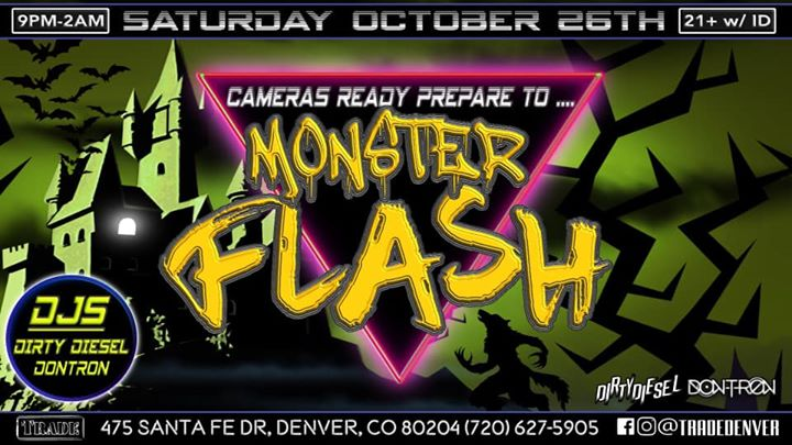 Monster Flash in Denver le Sat, October 26, 2019 from 09:00 pm to 02:00 am (Clubbing Gay, Bear)