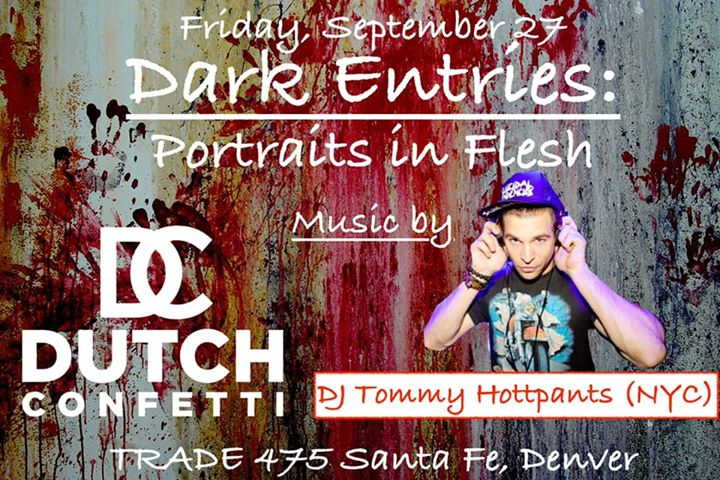 Dark Entries : Portraits in Flesh in Denver le Fri, September 27, 2019 from 09:00 pm to 02:00 am (After-Work Gay, Bear)