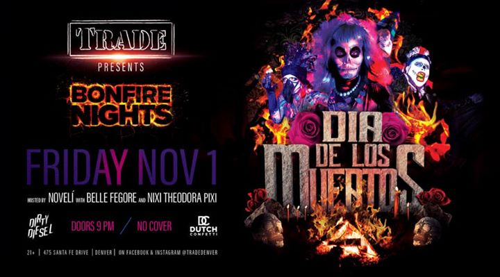Bonfire Nights : Dia De Los Muertos in Denver le Fri, November  1, 2019 from 09:00 pm to 02:00 am (Clubbing Gay, Bear)