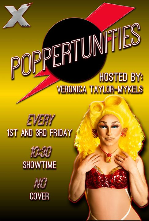 Veronica Taylor-Mykels presents: Poppertunities à Denver le ven. 20 décembre 2019 de 21h00 à 02h00 (Clubbing Gay)