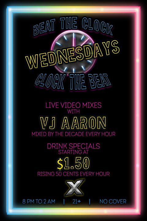 DenverBeat the Clock | Clock the Beat Wednesdays2019年 8月16日,20:00(男同性恋 俱乐部/夜总会)