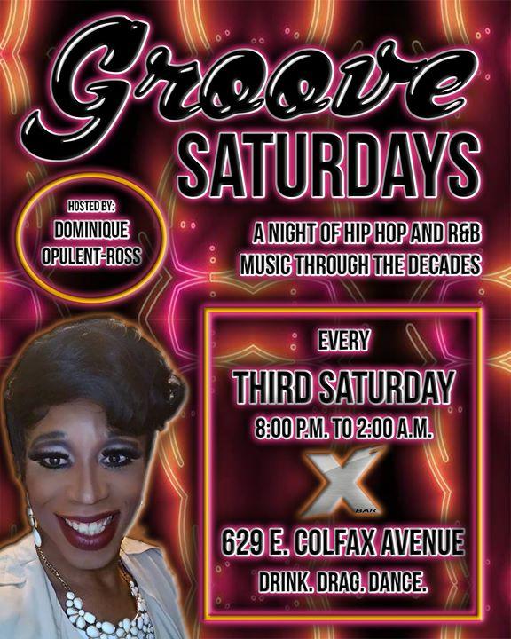 DenverGroove Saturdays2019年 8月19日,20:00(男同性恋 下班后的活动)