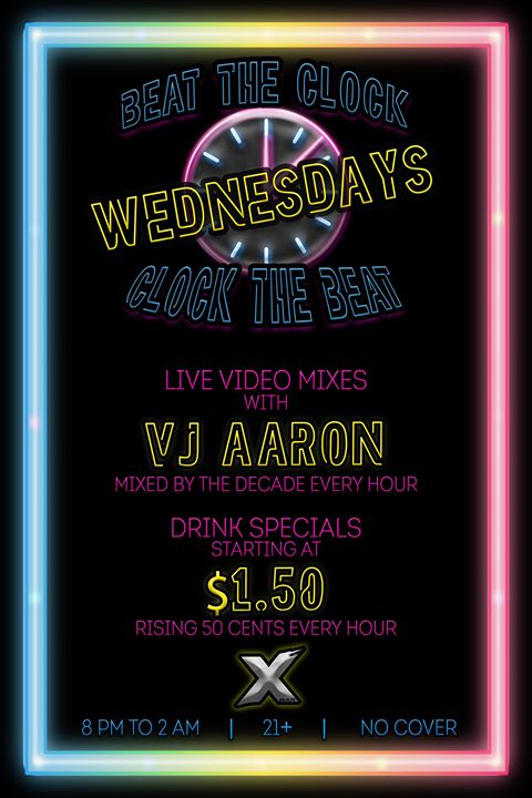 Beat the Clock | Clock the Beat Wednesdays em Denver le qua, 23 outubro 2019 20:00-02:00 (Clubbing Gay)