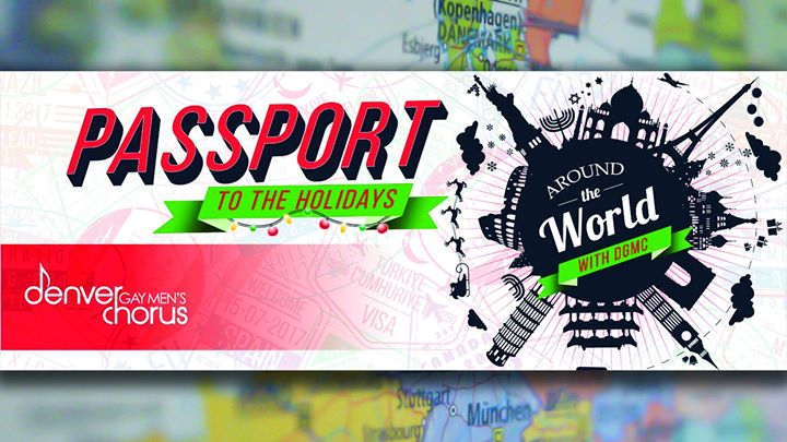 Passport to the Holidays: Around the World with DGMC à Denver le jeu.  5 décembre 2019 de 19h30 à 21h30 (Concert Gay)