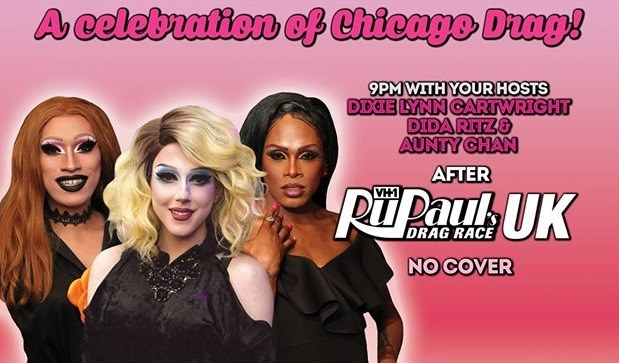 Shantay You Stay after Drag Race UK a Chicago le gio 14 novembre 2019 21:00-00:00 (After-work Gay)