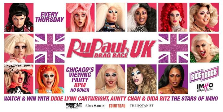 Chicago's RuPaul's Drag Race UK Viewing Party in Chicago le Do 14. November, 2019 20.00 bis 02.00 (Clubbing Gay)