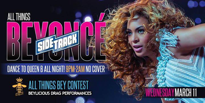 All Things Beyoncé em Chicago le qua, 11 março 2020 21:00-02:00 (Clubbing Gay)