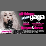 All Things Gaga à Chicago le mer. 10 janvier 2018 de 21h00 à 02h00 (After-Work Gay)