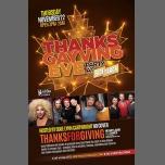 Thanksgayving Eve Party à Chicago le mer. 22 novembre 2017 de 15h00 à 02h00 (After-Work Gay)