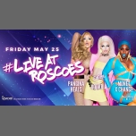 #LiveAtRoscoes with Aquaria, Monet X Change & Pangina Heals! à Chicago le ven. 25 mai 2018 à 21h00 (After-Work Gay)