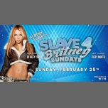 Slave 4 Britney Sundays! in Chicago le Sun, February 25, 2018 at 09:00 pm (Clubbing Gay)