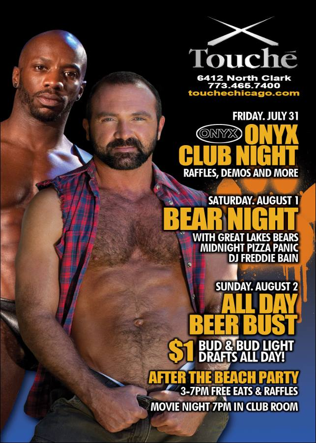 Chicago club gay in night