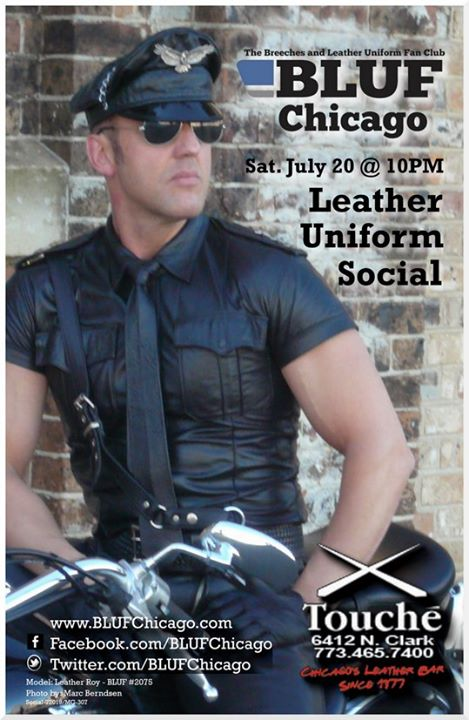 BLUFChicago Social at GEAR Night in Chicago le Sa 20. Juli, 2019 22.00 bis 00.00 (After-Work Gay, Bear)