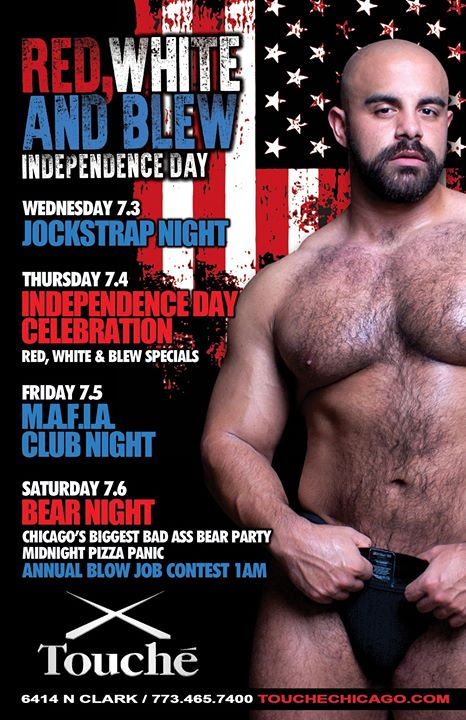 All American Bear Night in Chicago le Sa  6. Juli, 2019 22.00 bis 04.00 (Clubbing Gay, Bear)