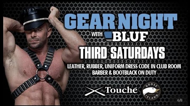 Gear Night in Chicago le Sat, July 20, 2019 from 10:00 pm to 04:00 am (Clubbing Gay, Bear)