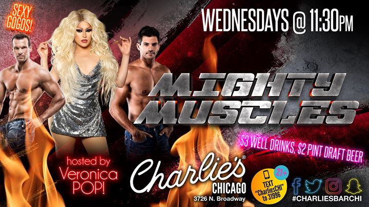 Mighty Muscles in Chicago le Wed, December  4, 2019 from 11:30 pm to 02:30 am (Clubbing Gay)