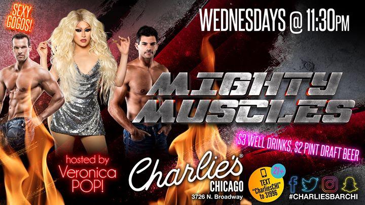 Mighty Muscles en Chicago le mié 25 de septiembre de 2019 23:30-02:30 (Clubbing Gay)