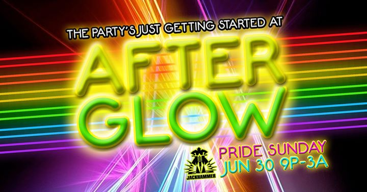 AfterGlow at Jackhammer in Chicago le Sun, June 30, 2019 from 09:00 pm to 03:00 am (Clubbing Gay)