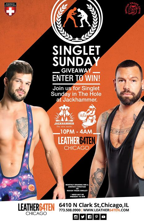 SINglet Sundays in The Hole en Chicago le dom 25 de agosto de 2019 22:00-04:00 (Clubbing Gay)