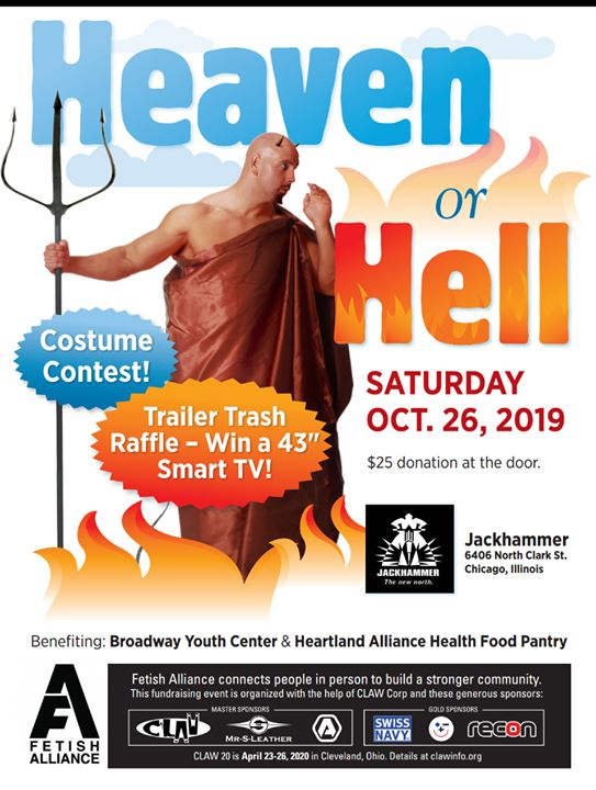 Heaven Or Hell Party en Chicago le sáb 26 de octubre de 2019 22:00-01:00 (Clubbing Gay)