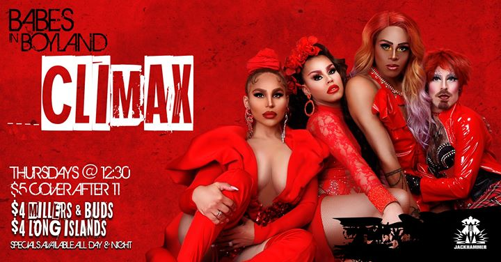 Babes in Boyland – Climax in Chicago le Thu, October 24, 2019 from 11:45 pm to 03:00 am (Clubbing Gay)
