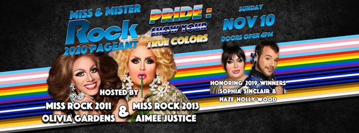 2020 Miss & Mister Rock Phoenix Pride Pageant in Phoenix le So 10. November, 2019 16.00 Uhr (After-Work Gay, Bear)