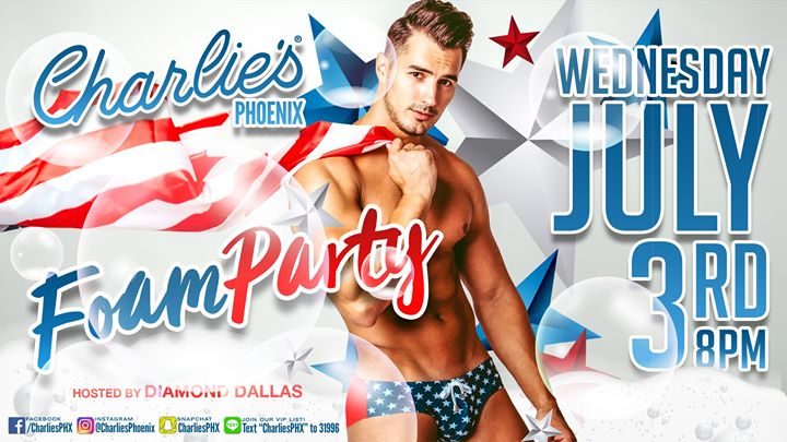 FOAM Party! en Phoenix le mié  3 de julio de 2019 20:00-02:00 (Clubbing Gay)