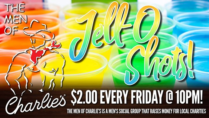 Jell-O Shots! in Phoenix le Fri, December  6, 2019 from 10:00 pm to 12:30 am (After-Work Gay)