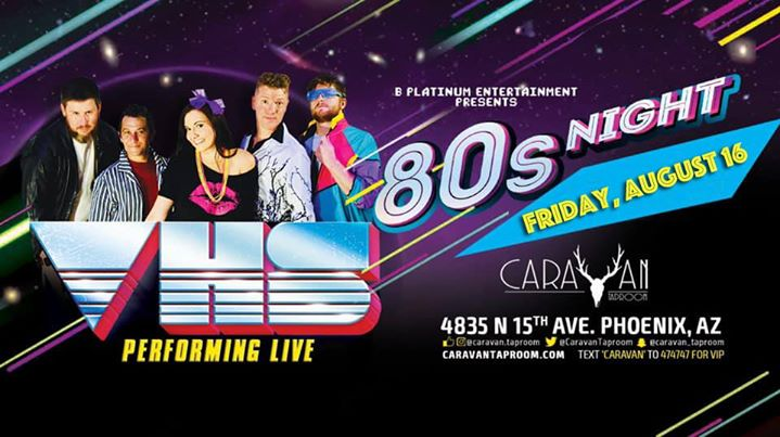 VHS Performing LIVE at Caravan in Phoenix le Fri, January 24, 2020 from 09:00 pm to 12:00 am (Show Gay, Bear)