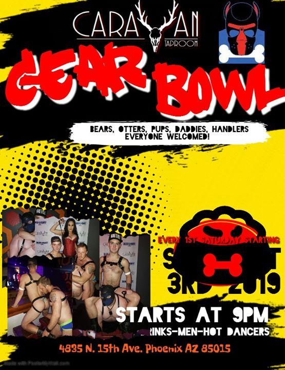 Gear Bowl en Phoenix le sáb  4 de abril de 2020 21:00-02:00 (Clubbing Gay, Oso)