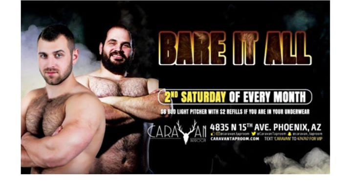 BARE It ALL em Phoenix le sáb, 14 dezembro 2019 21:00-02:00 (After-Work Gay, Bear)
