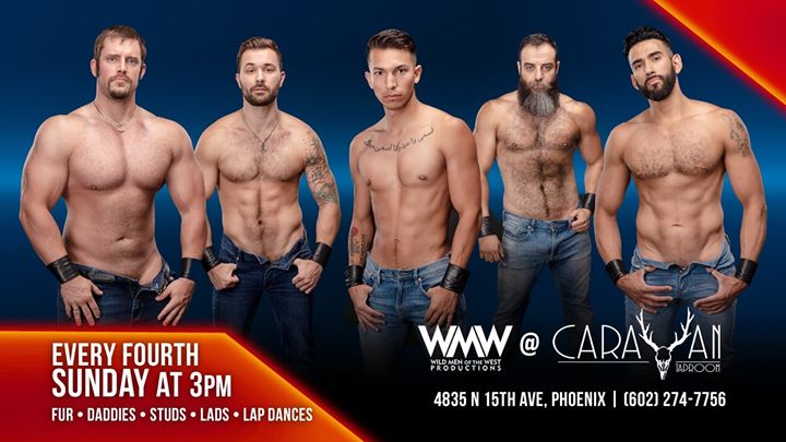 Wild Men of the West Dancers in Phoenix le Sun, November 24, 2019 from 03:00 pm to 05:00 pm (After-Work Gay, Bear)