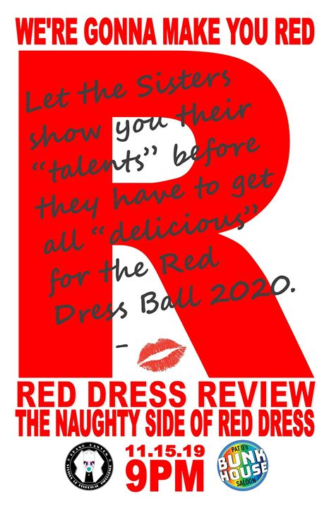 Red Dress Review - The Pre Red Dress Show in Phoenix le Fr 15. November, 2019 21.00 bis 00.00 (After-Work Gay, Bear)