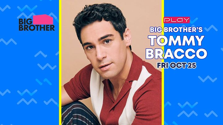 Big Brother's Tommy Bracco a Louisville le ven 25 ottobre 2019 21:00-04:00 (Clubbing Gay)