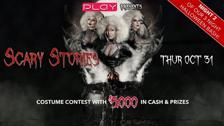 Halloween 2019 Night Two: Scary Stories a Louisville le gio 31 ottobre 2019 21:00-04:00 (Clubbing Gay)