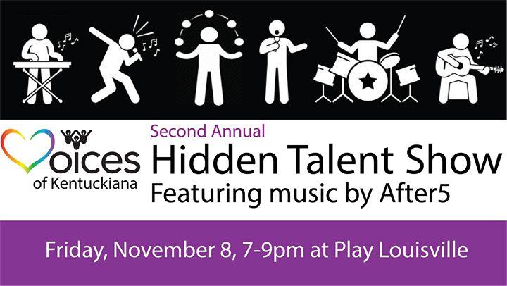 2nd Annual Hidden Talent Show a Louisville le ven  8 novembre 2019 19:00-21:00 (Spettacolo Gay, Lesbica, Trans, Bi)
