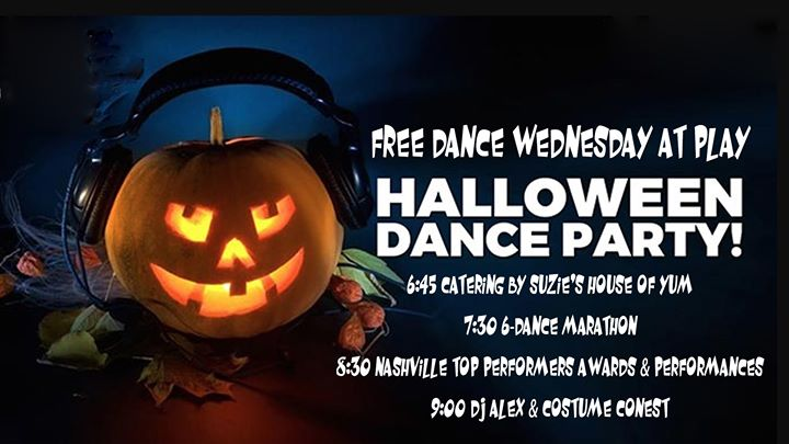 Free Dance! 7:30 6-Dance Marathon Class! 8:30 NTP Awards 9:00 DJ en Nashville le mié 30 de octubre de 2019 18:45-23:00 (After-Work Gay)