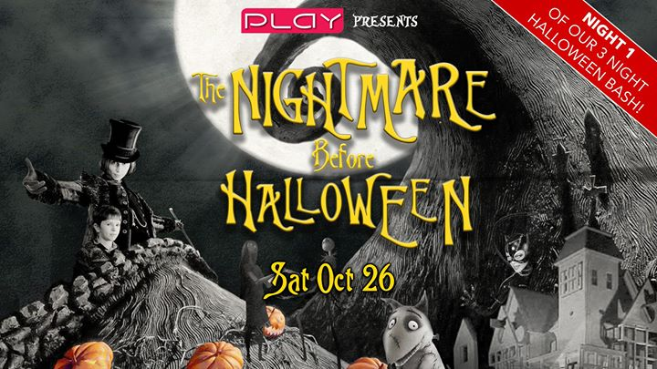 Halloween 2019 Night One: A Nightmare Before Halloween en Nashville le sáb 26 de octubre de 2019 20:00-03:00 (Clubbing Gay)