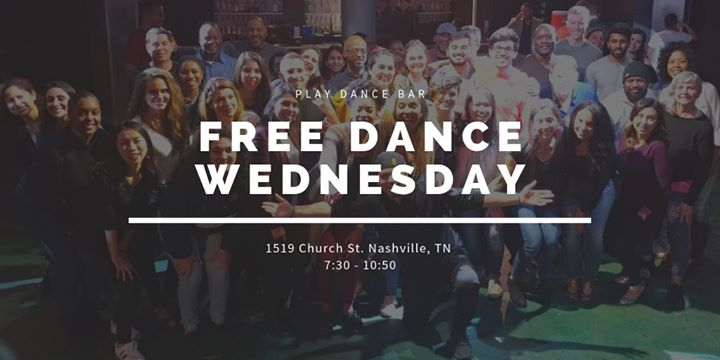 Free Dance Wednesday | Salsa with Michael en Nashville le mié 25 de septiembre de 2019 19:00-22:50 (After-Work Gay)