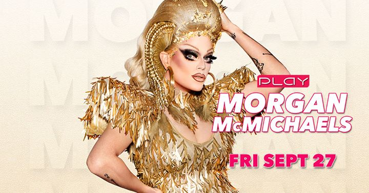 Morgan McMichaels en Nashville le vie 27 de septiembre de 2019 20:00-03:00 (Clubbing Gay)