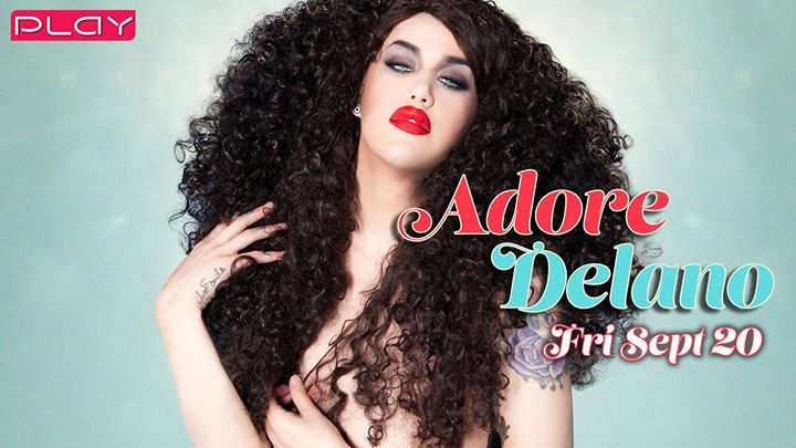 Adore Delano en Nashville le sáb 21 de septiembre de 2019 21:00-03:00 (Clubbing Gay)