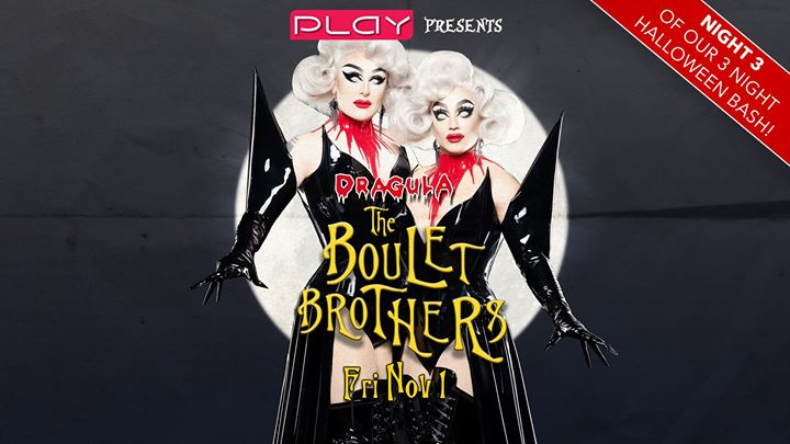 Halloween 2019 Night Three: The Boulet Brothers en Nashville le vie  1 de noviembre de 2019 20:00-03:00 (Clubbing Gay)