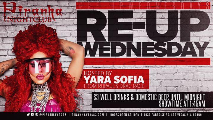 Las VegasRe-Up Wednesdays2019年10月16日,22:00(男同性恋 俱乐部/夜总会)