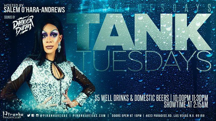 Tank Tuesdays à Las Vegas le mar.  6 août 2019 de 22h00 à 05h00 (Clubbing Gay)