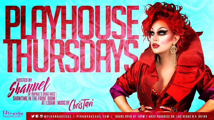 Las VegasPlayHouse Thursdays2019年10月17日,22:00(男同性恋 俱乐部/夜总会)