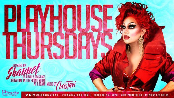 Las VegasPlayHouse Thursdays2019年10月22日,22:00(男同性恋 俱乐部/夜总会)