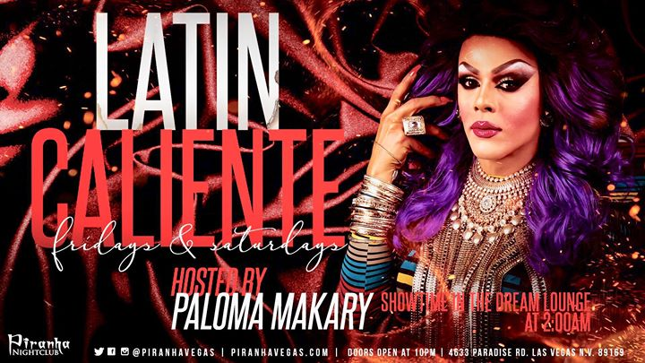 Saturday Latin Caliente a Las Vegas le sab 19 ottobre 2019 22:00-05:00 (Clubbing Gay)
