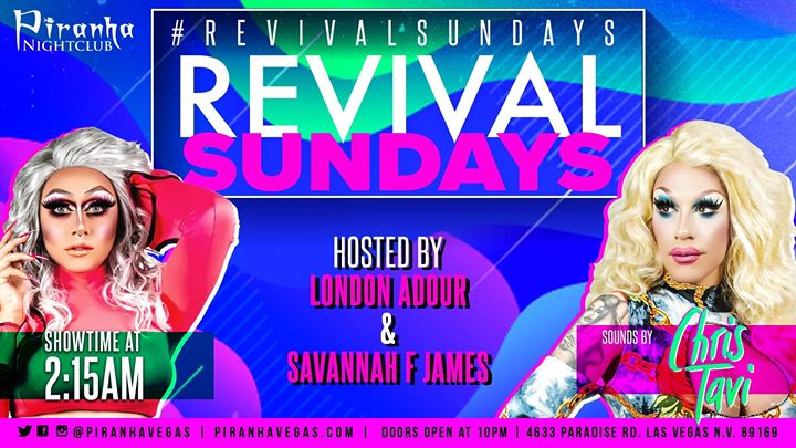 Revival Sundays in Las Vegas le Sun, September 15, 2019 from 10:00 pm to 05:00 am (Clubbing Gay)