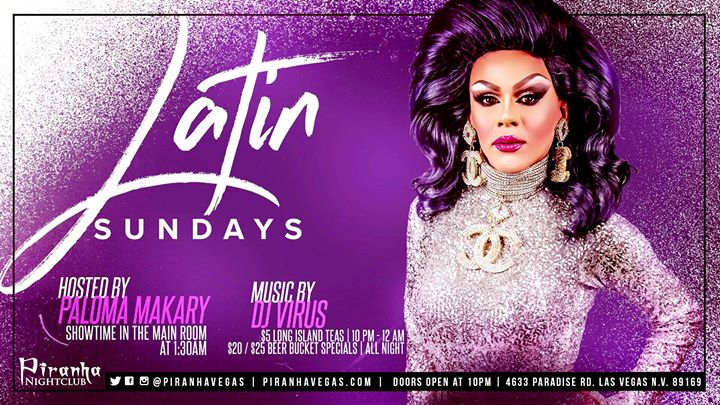 Latin Sundays in Las Vegas le Sun, August 11, 2019 from 10:00 pm to 05:00 am (Clubbing Gay)