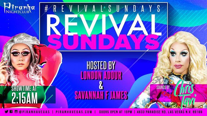 Revival Sundays en Las Vegas le dom 25 de agosto de 2019 22:00-05:00 (Clubbing Gay)
